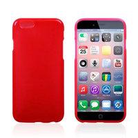 Тонкий силиконовый чехол для iPhone 6 / 6s красный - Thin TPU Silicone Case Red