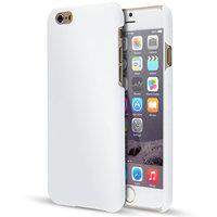 Накладка пластиковый чехол для iPhone 6 / 6s белый - Soft Touch Plastic Case White