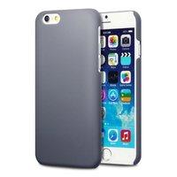 Накладка пластиковый чехол для iPhone 6 / 6s серый - Soft Touch Plastic Case Grey