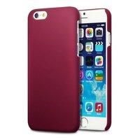 Накладка пластиковый чехол для iPhone 6 / 6s красный - Soft Touch Plastic Case Red
