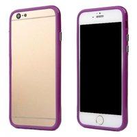 """Фиолетовый пластиковый бампер для iPhone 6 (4.7"""")"""