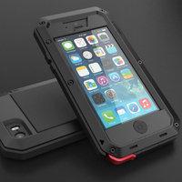 Противоударный защитный чехол TAKTIK EXTREME Black для iPhone 6 / 6s air черный