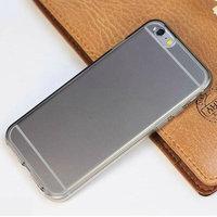 """Матовый силиконовый чехол для iPhone 6 / 6s 4.7"""" серый - Matte Silicone Case Grey"""