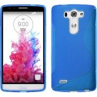 Голубой силиконовый чехол S Line Case для LG G3 s / mini