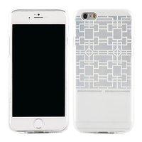 Силиконовый чехол для iphone 6 4.7 с узором кубики