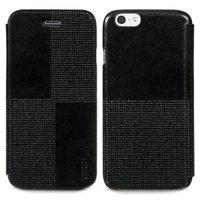 """Кожаный чехол книжка HOCO для iPhone 6 / 6s (4.7"""") черный - HOCO Crystal Retro Case Black"""