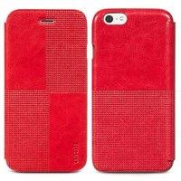 """Кожаный чехол книжка HOCO для iPhone 6 / 6s (4.7"""") красный - HOCO Crystal Retro Case Red"""