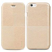 """Кожаный чехол книжка HOCO для iPhone 6 / 6s (4.7"""") золотой - HOCO Crystal Retro Case Gold"""
