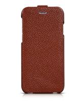 Кожаный чехол HOCO для iPhone 6 / 6s коричневый - HOCO Premium Collection Flip Leather Case Brown