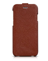 Кожаный чехол HOCO для iPhone 6 / 6s коричневый - HOCO Premium Collection Flip Leather Case Brown