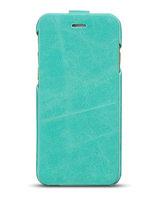 """Кожаный чехол флип HOCO Crystal для iPhone 6 / 6s (4.7"""") голубой - HOCO General Flip Case Blue"""