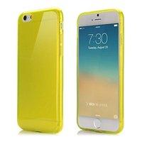 """Желтый прозрачный силиконовый чехол для iPhone 6 / 6s (4.7"""")"""
