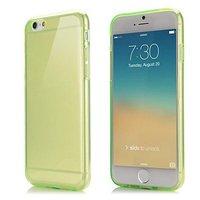 """Зеленый прозрачный силиконовый чехол для iPhone 6 / 6s (4.7"""")"""