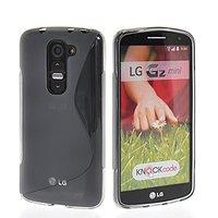 Серый силиконовый чехол S Line Case для LG G2 mini