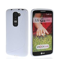 Белый силиконовый чехол S Line Case для LG G2 mini
