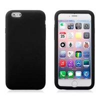 """Черный матовый силиконовый чехол для iPhone 6 Plus / 6s Plus (5.5"""")"""