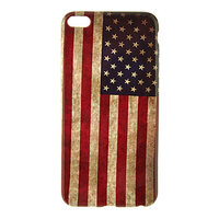 "Силиконовый чехол для iPhone 6 Plus / 6s Plus (5.5"") американский флаг - USA Flag Pattern Soft Case"