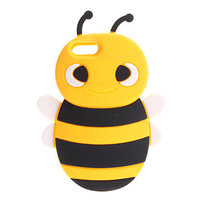 Накладка Bee 3D Silicone Case Yellow&Black для iPhone 5 / 5s / SE пчела желтая