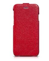 "Кожаный чехол флип для iPhone 6 Plus / 6s Plus (5.5"") красный - HOCO Premium Flip Genuine Leather Case"