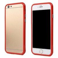 """Красный пластиковый бампер для iPhone 6 Plus (5.5"""")"""