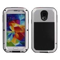 Противоударный защитный чехол для Samsung Galaxy S5 Taktik Ultimate ShockProof Case Silver
