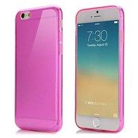 """Розовый прозрачный силиконовый чехол для iPhone 6 / 6s (4.7"""")"""