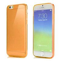 """Оранжевый прозрачный силиконовый чехол для iPhone 6 / 6s (4.7"""")"""