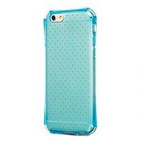 """Защитный силиконовый чехол для iPhone 6 / 6s (4.7"""") прозрачный голубой - HOCO Armor Series Transparent Blue"""