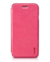 "Кожаный чехол книга HOCO Crystal для iPhone 6 / 6s (4.7"") розовый - HOCO Crystal Series Classic Case Pink"