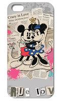 "Пластиковый чехол для iPhone 6s / 6 (4.7"") Мики и Мини обнимашки"