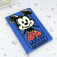 Чехол книга Mickey Mouse для iPad Air синий с рисунком Мики Маус