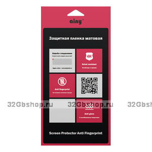Матовая защитная пленка Ainy для Samsung Galaxy Note 4