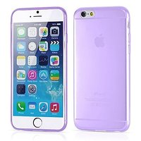 """Фиолетовый прозрачный силиконовый чехол для iPhone 6 Plus / 6s Plus (5.5"""")"""