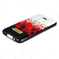 Чехол силиконовый для Samsung Galaxy S5 mini Lily Маки