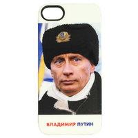 Силиконовый чехол накладка для iPhone 5s / SE / 5 с фото Владимир Путин в форме