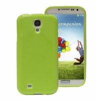 Силиконовый чехол для Samsung Galaxy S5 зеленый - Slim Silicone Case Green