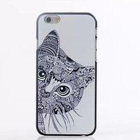 "Чехол накладка из прочного пластика для iPhone 6 Plus / 6s Plus (5.5"") Кот"