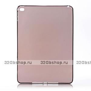 Серый силиконовый чехол для iPad Air 2 - Mobi Cover Grey Silicone Case