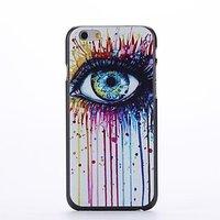 "Пластиковый чехол накладка для iPhone 6 Plus / 6s Plus (5.5"") с рисунком глаз"