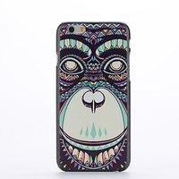 "Пластиковый чехол накладка для iPhone 6 Plus / 6s Plus (5.5"") с рисунком обезьяна"