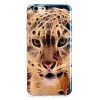 """Глянцевый силиконовый чехол для iPhone 6 / 6s (4.7"""") леопард"""