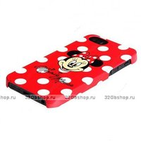 """Силиконовый чехол накладка для iPhone 6 / 6s (4.7"""") рисунок Minnie Mouse"""
