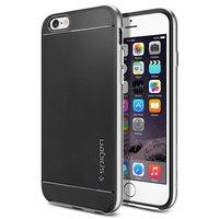 "Чехол накладка для iPhone 6 / 6s (4.7"") Case Neo Hybrid Satin Silver серебряный"