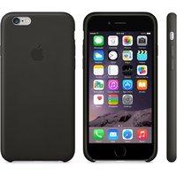 """Кожаный чехол для iPhone 6 Plus / 6s Plus (5.5"""") черный - iPhone 6 Plus / 6s Plus Leather Case - Black"""