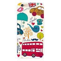 """Силиконовый чехол для iPhone 6 / 6s (4.7"""") Автобус Лондон"""