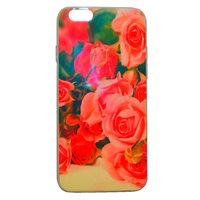 """Глянцевый силиконовый чехол для iPhone 6 / 6s (4.7"""") розы"""