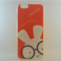 "Чехол пластиковый для iPhone 6 / 6s (4.7"") накладка заяц в очках"
