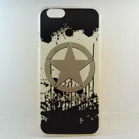 "Чехол пластиковый для iPhone 6 / 6s (4.7"") накладка звезда US Army"