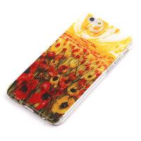 """Чехол пластиковый для iPhone 6 / 6s (4.7"""") накладка поле и маки"""