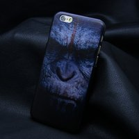 "Пластиковый чехол накладка для iPhone 6 / 6s (4.7"") обезьяна"